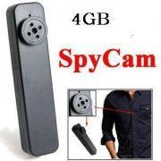Mini-Câmera em Formato de Botão Worldcam