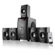 Home Theater Multilaser Extreme Sp123 2.1/5.1 150W Rms Radio Fm Usb Entrada Cartao Sd