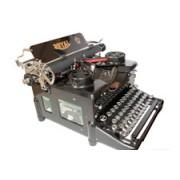 Maquina de Escrever Royal Model 10 Fab 1914 New York USA E.B. Hess Royal Typewriter