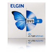 Mídia DVD-R Elgin 4.7gb/120 Min/8x (Envelope)