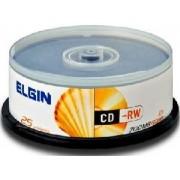 Mídia CD-Rw Elgin 700mb/80 Min/12x (Pino com 25)
