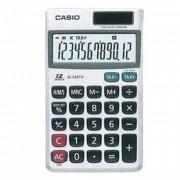 Calculadora de Bolso Casio Sl-320Tv-W 12 Digítos Prata Solar e Bateria