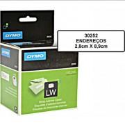 Módulo de Endereços Dymo Label Writer 450 Grande 2,8cmx8,9cm 350 Etiquetas Cada