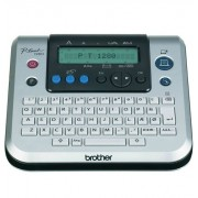 Rotulador Eletrônico Brother Pt-1280 180 Dpi Velocidade 10mm/Seg Teclado Qwerty