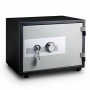 (FORA DE LINHA) Cofre à prova de fogo Safewell YB-350A-M - Medidas Externas (AxCxP): 330x420x350mm, Capacidade: 12L, Senha: 3 a 8 dígitos