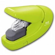 Grampeador sem Grampo Plus Japan Pl-Sl106Ab Verde Entrelaça O Papel até 5 Folhas 75G
