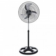 Ventilador Libell Fan Preto - 50 cm, 3 velocidades, 127V