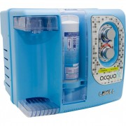 Purificador Eletrônico Libell Acqua-Fit Colorido Bivolt Azul - Compacto, 3 etapas de filtragem