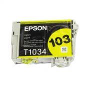 Cartucho de Tinta Amarela Durabrite Ultra Epson Blister Original T103420-BR p/ Stylus Office T40W / T1110 / TX515FN / TX550W / TX600FW (Cod: 6616)