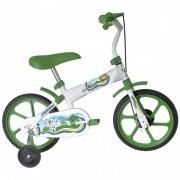 Bicicleta Prince T12 Príncipe - Aro 12, Cor: Verde e Branco