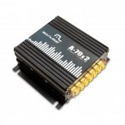 Amplificador Elétrico de Audiofrequência Multilaser AU902  4 x 100W