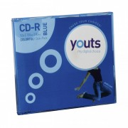 CD-R Youts Slim Colorful Blue