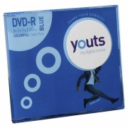 DVD-R Youts Slim Colorful Blue