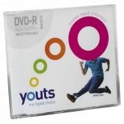 DVD-R Youts Slim Printable White