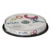DVD-R Youts Cake com 10 discos