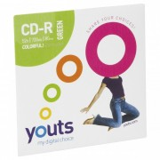 CD-R Youts Envelope Colorful Green