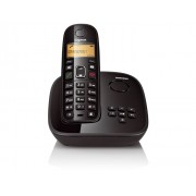 (FORA DE LINHA) Telefone sem Fio Gigaset Siemens A495 Preto - DECT 6.0 com Secretária Eletrônica, Viva-Voz, Id. Chamadas e Teclado Luminoso