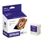 Cartucho de Tinta Colorida Epson Original T020201-AL p/ Stylus Color 880 (Cod: 6380)