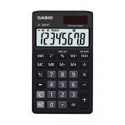 Calculadora de Bolso Casio Colorful Sl-300Nc-Bk-S-Dh 8 Díg Cálculo de Hora Preta