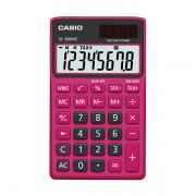 Calculadora de Bolso Casio Colorful Sl-300Nc-Brd-S-Dh 8 Díg Preta e Vermelha