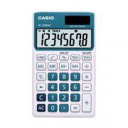 Calculadora de Bolso Casio Colorful Sl-300Nc-Bu-S-Dh 8 Díg Hora Azul