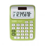 Calculadora de Mesa Casio Colorful Ms-6Nc-Gn Verde 8 Díg Big Display