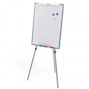 Cavalete Flip Chart Stalo Office Magnetico Tripé Fixo 67x90cms 9451