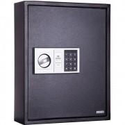 Cofre p/ Chaves Safewell Key Safe 71KS - Medidas Externas (AxCxP): 450x360x120mm, Peso: 12Kg, Com sistema de trava segura