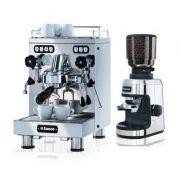 Combo Máquina de Café Profissional Saeco SE50 com Moinho M50