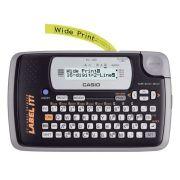 Etiquetador Rotulador Eletrônico Casio Kl-120 Visor Lcd 2 Linhas Fitas 6 9 12 18 mm + 3 fitas
