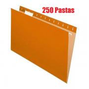 Pasta Suspensa Pendaflex Essentials Laranja H.Metal 250 Unid 81627