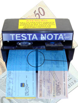 Testa Nota Plus Cheque 110v