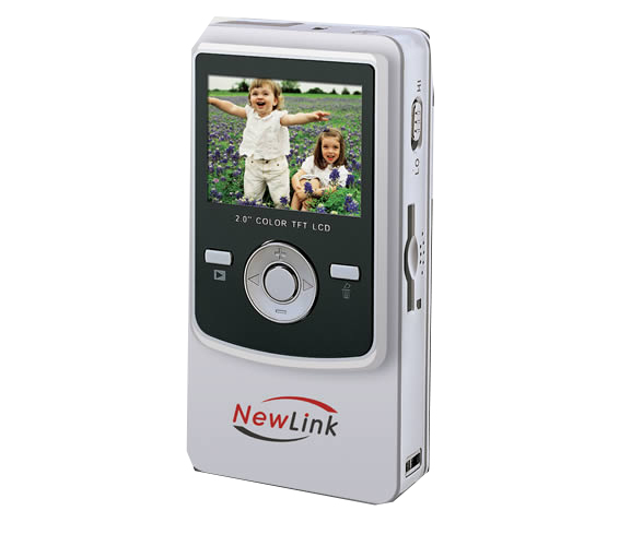 Pocket Cam VGA Prata Newlink VC104s