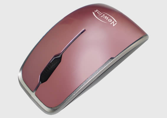 Mouse Shiny Rosa Newlink Mo207