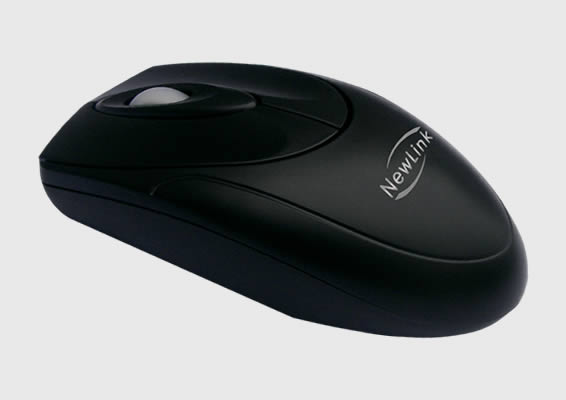 Mouse PS/2 Easy Preto Newlink MO301