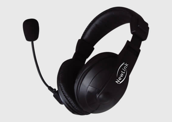 Headset Professional NewLink HS201