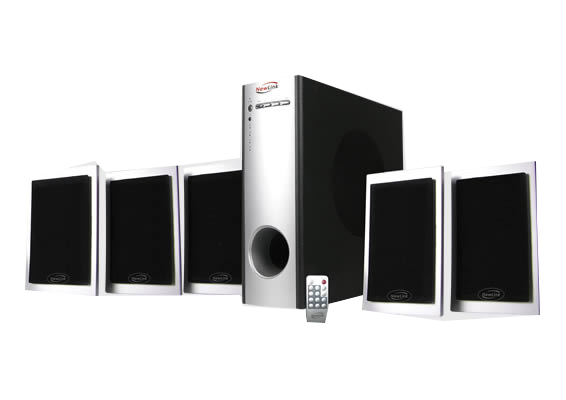 Home Theater 5.1 Platinum Newlink Sp101