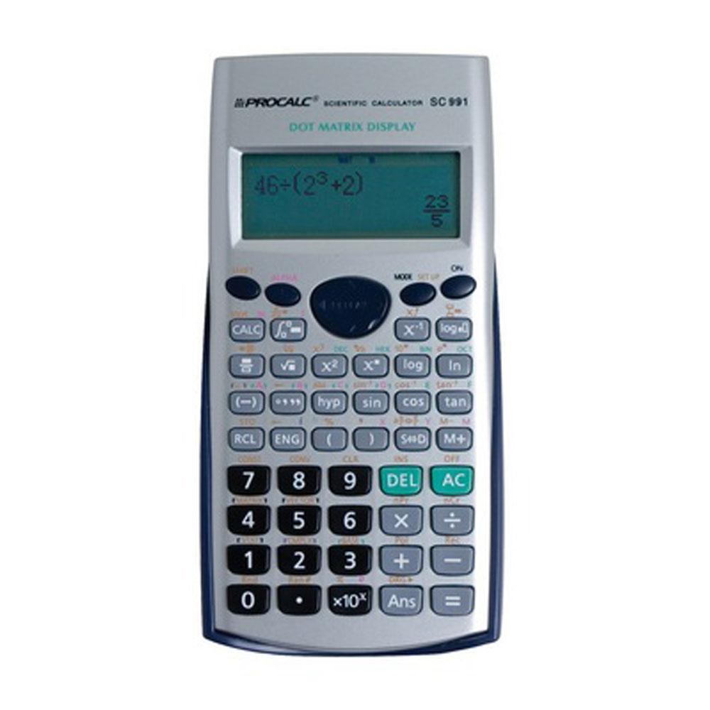 Calculadora Científica Procalc Sc991 403 Funções Visor Lcd