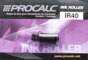 Rolete de Tinta Procalc Ir40 1 Cor para Modelos Pr100B Pr150 Lp-19