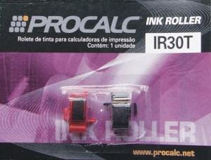 Rolete de Tinta Procalc Ir30T Duplo Preto/Vermelho Calculadora Pr640 Sharp
