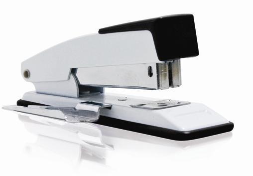 Grampeador Procalc S-8112 20 Fls Usa Grampos 24/6 26/6 Metálica com Extrator