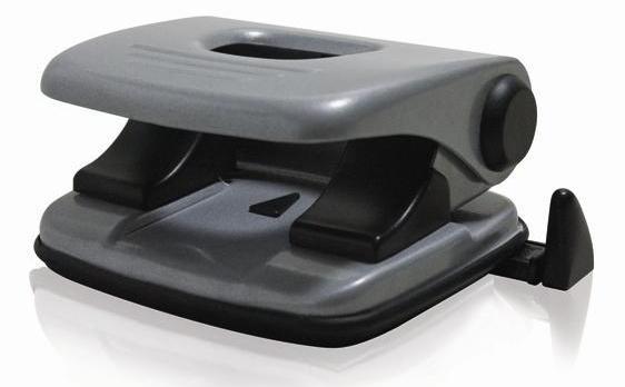 Perfurador Procalc S-8004 20 Fls Diâmetro de Furo 6mm Régua com Escala Metal Preta