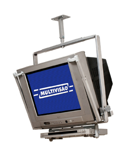 Suporte de Teto para Tv Crt de 22 a 34 Multivisão T33