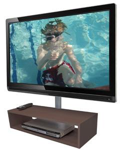 Módulo de Parede para DVD ou Acessórios Oculta Cabos SDVD400 Multivisão