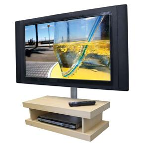 Módulo de Parede para DVD ou Acessórios   Oculta Cabos Multivisão SDVD600 Maple