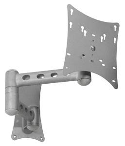 Suporte de Parede Articulado com Inclinação para Tv de 19 a 32 Alumínio Multivisão Stpa58