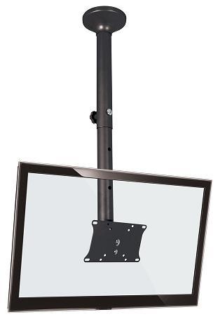 Suporte de Teto Multivisão Sky200-G Preto com Inclinação para Tvs Lcd