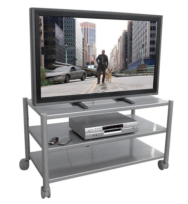 Rack para Tv Lcd Plasma ou Led até 52 e Acessórios Multivisão Rack Aço 10