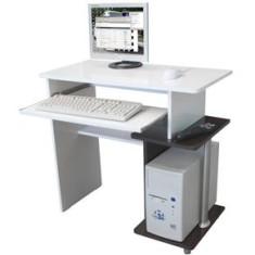 Mesa para Computador e Acessórios Multivisão FLEX Branco