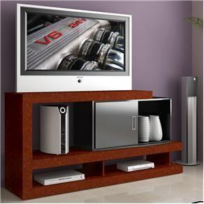 Rack para Tv até 52 e Acessórios Multivisão Evidency Branco